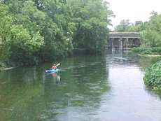 San Marcos Canoeing